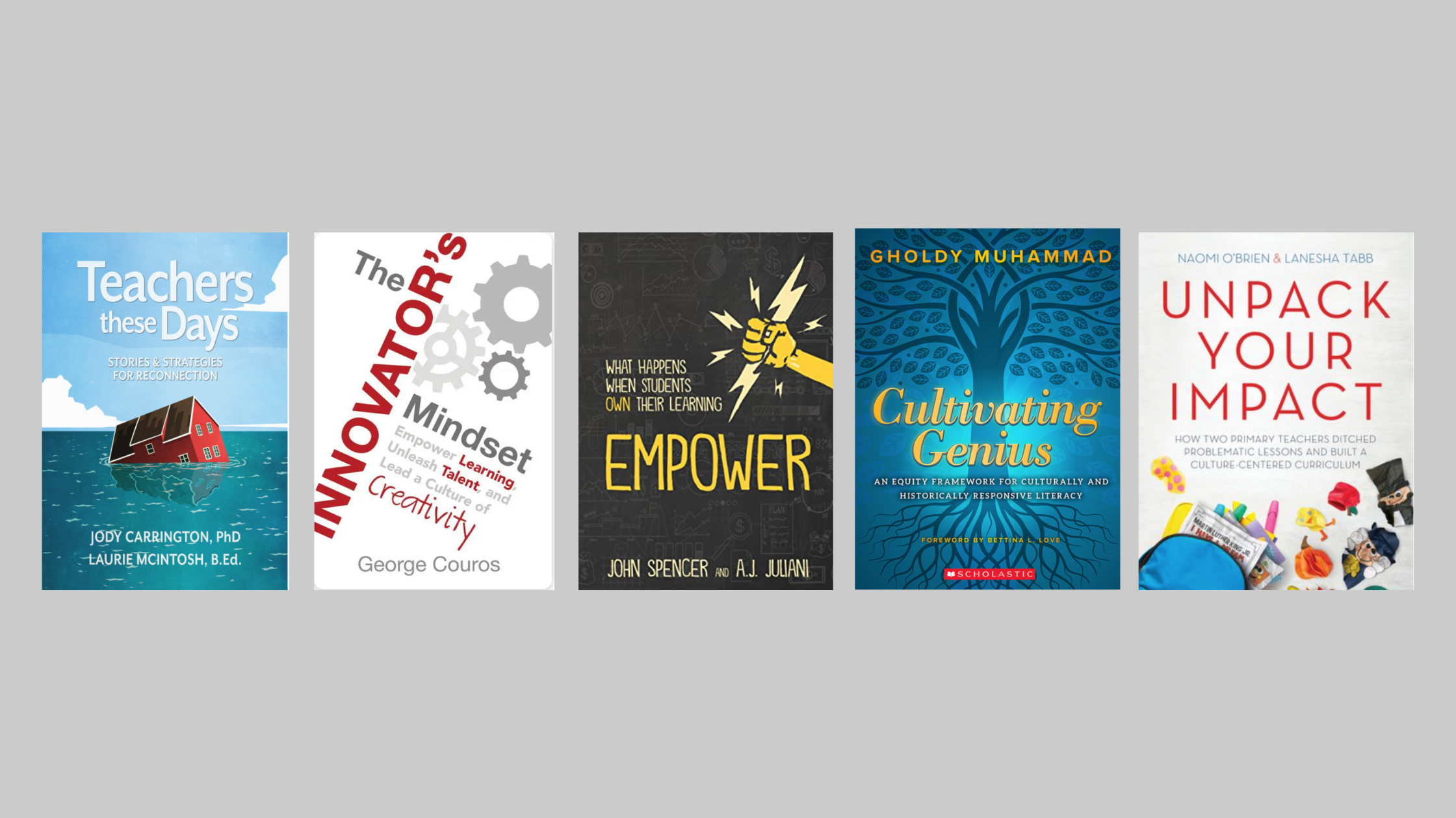 Read more about the article 5 Favourite Books Written by Educators